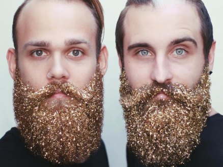 a-new-instagram-trend-has-men-covering-their-beards-with-glitter
