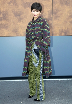 Kenzo During Paris Fashion Week Spring-Summer 2016 - Arrivals