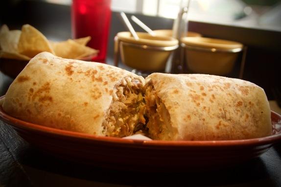 chicken burrito maize