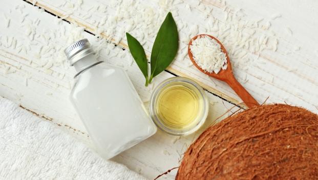 Coconut natural beauty treatment.